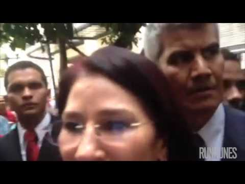 Cilia Flores fingió demencia y no respondió por sus sobrinos presos por narcotráfico