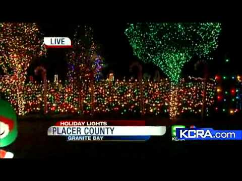 extreme holiday house lights up granite bay - Bay Area Christmas Lights