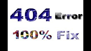 Error 404 Not Found The Requested URL Was Not Found On This Server Solved Step By Step