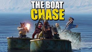 The BOAT CHASE (Rust Survival) #139