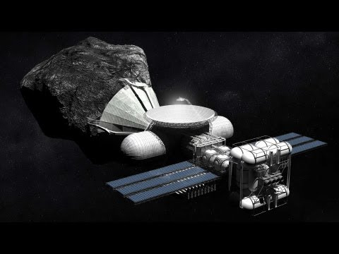 The upcoming Asteroid Mining Industry - Spacevidcast Live 6.02