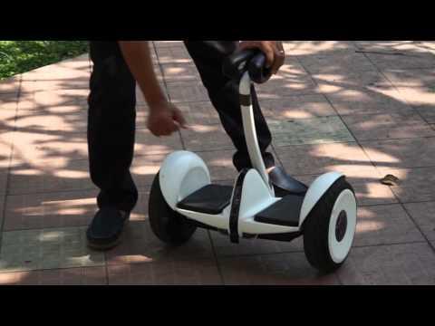 Giới thiệu xe điện tự cân bằng tay cầm Ninebot mini