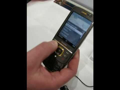 MWC 2009 Nokia 6710 Navigator Demo