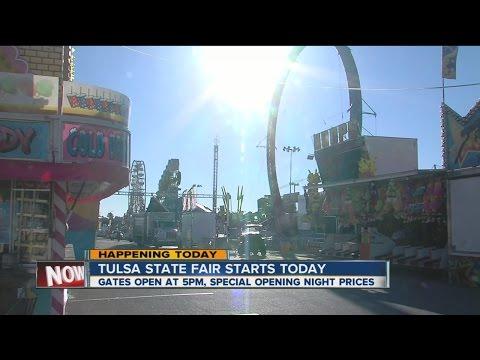 Tulsa State Fair starts today
