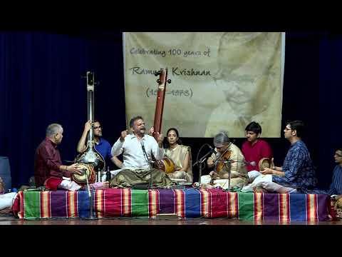 Ramnad Krishnan 100   Shri T M Krishna Concert