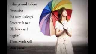 Gabrielle Aplin ~ November (Lyrics)