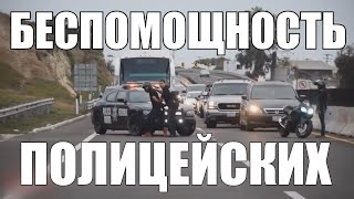 Топ лучших *уходов* от ДПС! 3 ЧАСТЬ! / ОЗВУЧКА / Лучшие погони за мото 2020!