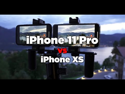 IPhone 11 Pro (Max) Cinematic 4K Video Test Vs IPhone XS
