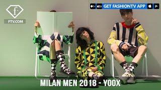 Milan Men Spring/Summer 2018 - Yoox   FashionTV