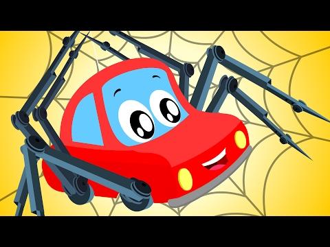 little red car   Incy Wincy Spider   Nursery Rhymes   Rhymes for kids