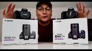 Canon 77D or T7i + Differences & Why I chose the 77D
