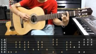 Dạy Học Guitar] [Đệm Hát] [Điệu Piano Ballad]   Nơi Tình Yêu Bắt Đầu