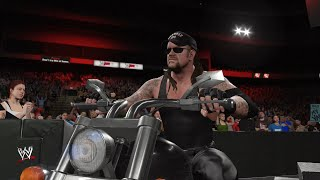 WWE 2K16: American Badass Undertaker Entrance (RAW is WAR 1999)