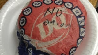 Dairy Queen Hunger Buster Burger Review