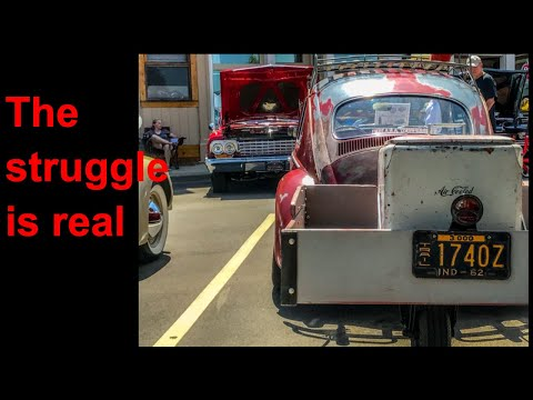 Single Wheel Trailer fixes and 1958 VW pressed bumper, PICKLE update!!!