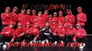 V company dance performance in auto expo 2018