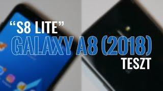 """Samsung Galaxy A8 (2018) teszt - az """"S8 Lite"""""""