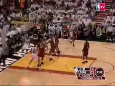NBA Chicago Bulls Tyrus Thomas Slam Dunk Highlights