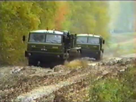 Испытания военных автомобилей