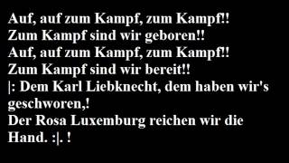Auf, auf zum Kampf ! (1919) - Christoph Holzhöfer