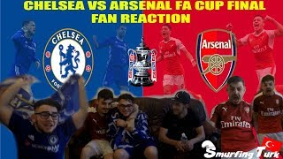 Arsenal vs Chelsea FA Cup Final 2-1 - Match Reaction