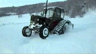 BM VOLVO 400 daje rade w śnieżną zimę / can do the trick in snowy winter