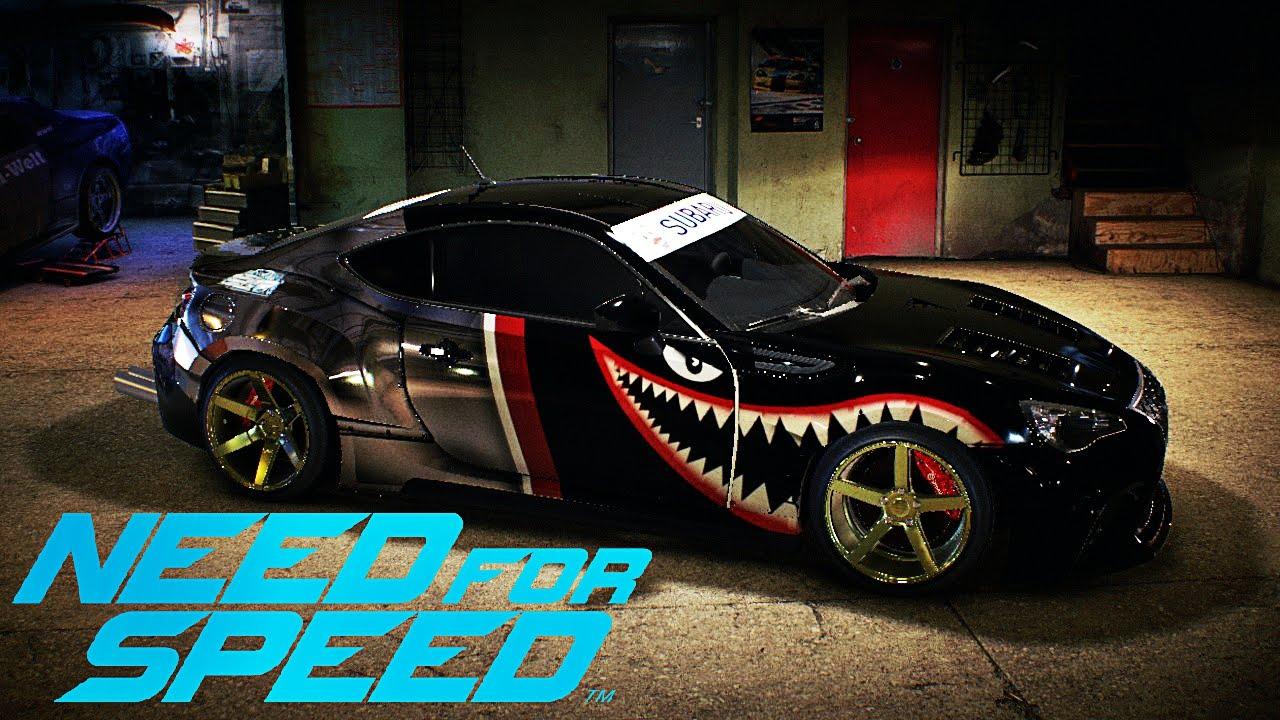 Need For Speed 2016 Subaru BRZ Shark Drift Team Vinyl ...