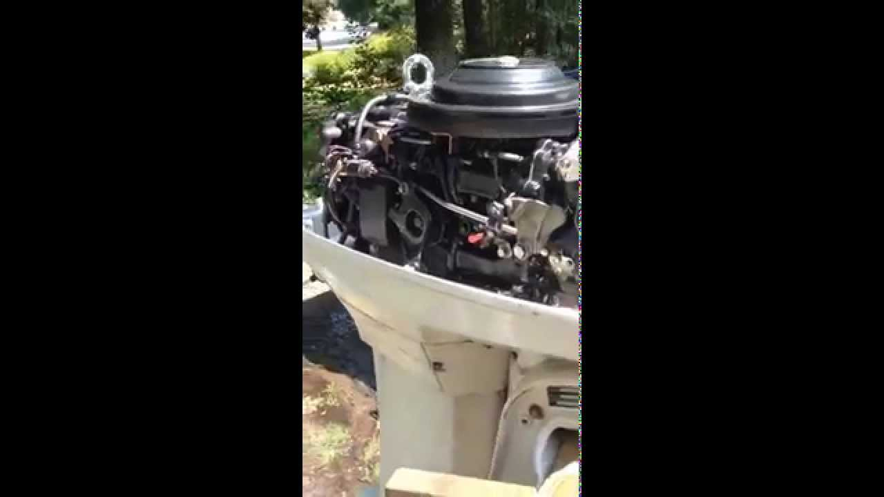 1988 Johnson 48 Hp Spl
