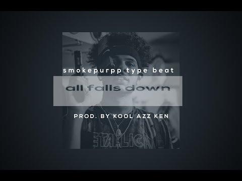 🔥FREE Smokepurpp Type Beat 2017  all falls down Instrumental Prod  Kool Azz Ken