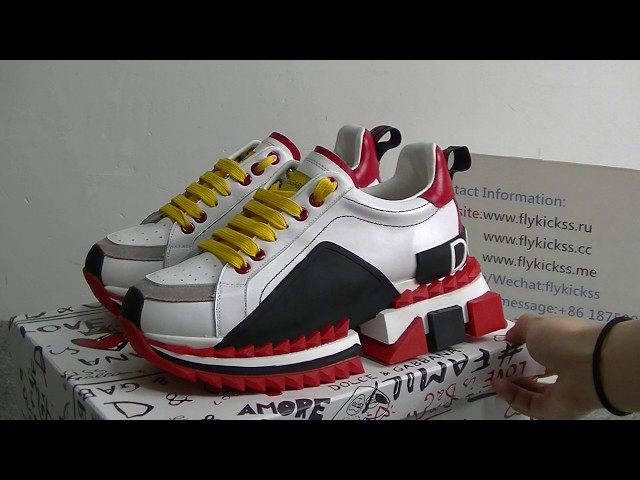 Dolce and Gabbana Sneaker Super King Sneakers