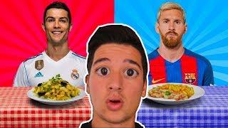FUTBOLCULARIN EN ÇOK SEVDİĞİ YEMEKLER (Ronaldo, Messi)