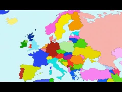 The Countries of the World Song - Europe