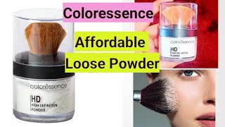 COLORESSENCE HIGH DEFINITION POWDER REVIEW SNOW WHITE LOOSE POWDER REVIEW