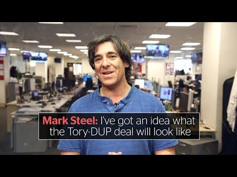 Mark Steel: I've got an idea what the Tory-DUP deal will look like