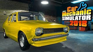 My Summer Car Mechanic Simulator 2018 | The Legendary Satsuma | Car Mechanic Simulator 2018