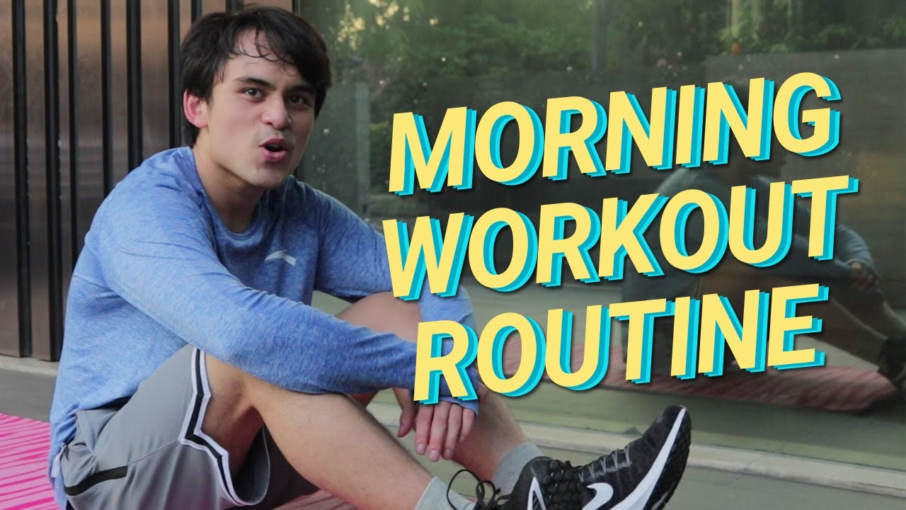 MY MORNING WORKOUT ROUTINE   Jimuel Pacquiao