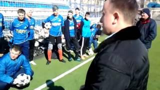 Антон Ищенко на весеннем кубке по футболу