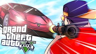 GTA V: CARRO VS BAZOOKA ‹ AMENIC ›