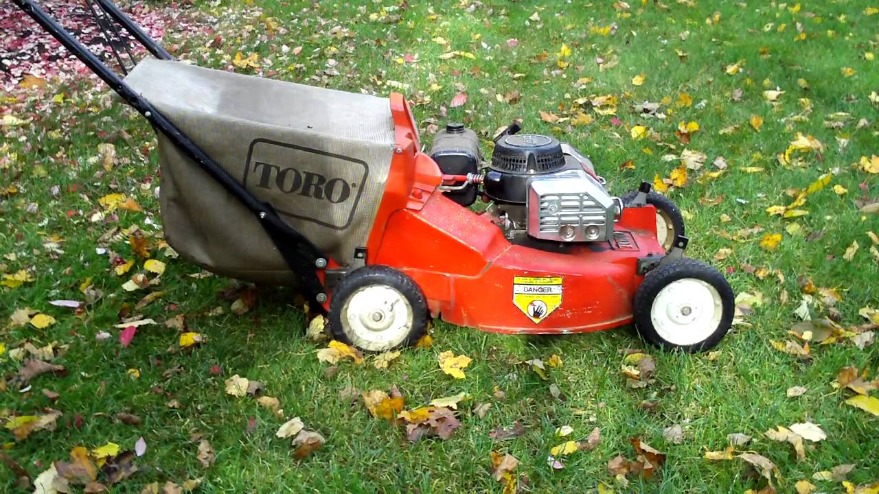 Toro Commercial 2-Cycle Mower Start