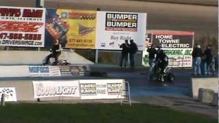 Halloween Havoc - Bar Stool Racing  - 10-29-11