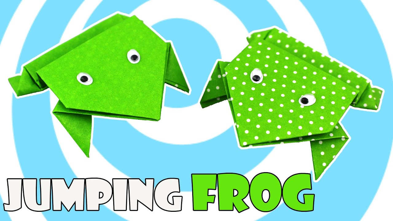 easy origami kids: printable instructions for origami frog | 720x1280