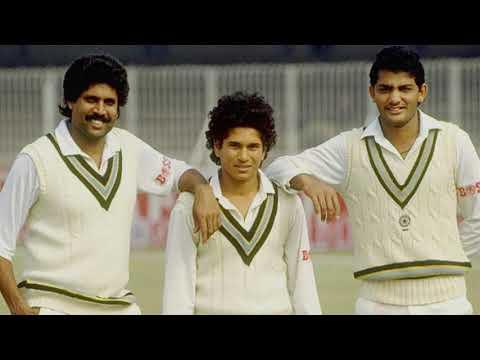 Sachin Tendulkar's First Match 1989 | Sachin Tendulkar Vs Waqar Younis 🔥
