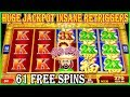 🤯 HUGE JACKPOT 🤯 INSANE RETRIGGERS MOST SPINS ON RED FORTUNE