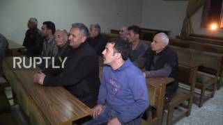 Syria  Militants who laid down arms given amnesty by SAA in Aleppo