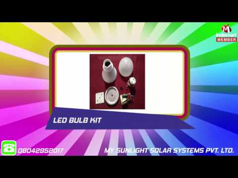LED Light and Parts by My Sunlight Solar Systems Private Limited, Baran