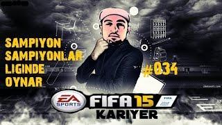 Türkiye Süper Lig Kariyeri | Fifa 15 | 34.Bölüm | Sampiyon'luga 1 kala