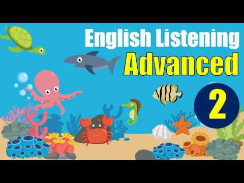 ✪ Advanced English Listening Practice with Subtitle : Lesson 2 (Ocean Biodiversity)