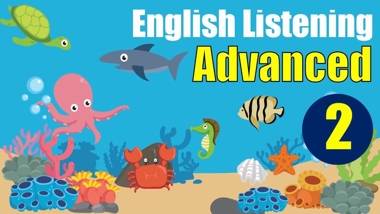 English Listening: Advanced Level - Lesson 2 (Ocean Biodiversity) - YouTube