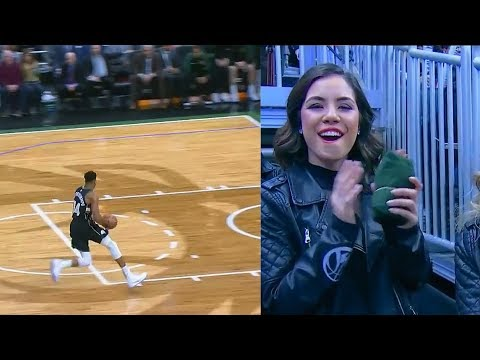 Giannis Tries To Show Off Then Embarrasses Himself After Missing Wide Open Dunk! Bucks vs Hornets