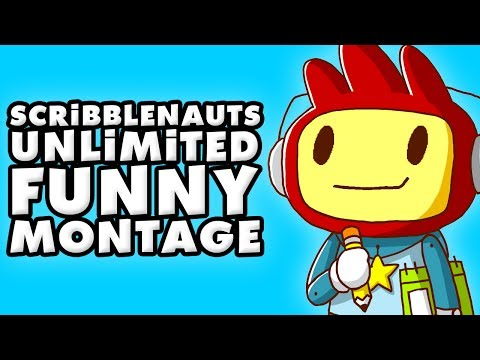 Scribblenauts Unlimited Funny Montage!